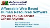 OnDemand-HR Management online software