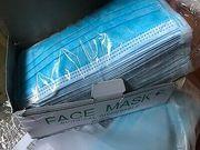 3ply Non Woven Disposable Civilian protective masks face mask